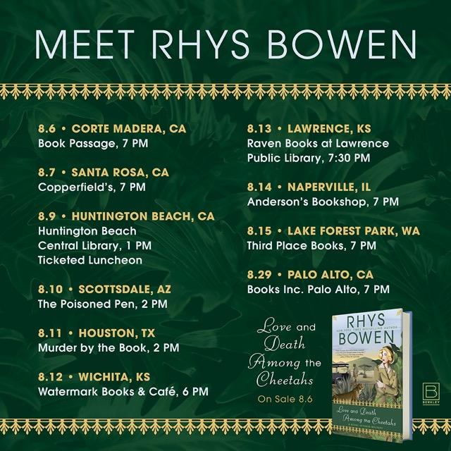 Meet Rhys Bowen